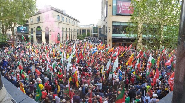 welsh indy march
